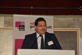 Himmet Ertürk, Vorsitzender der vdla gewerkschaft (Foto: @ Markus Klügel)